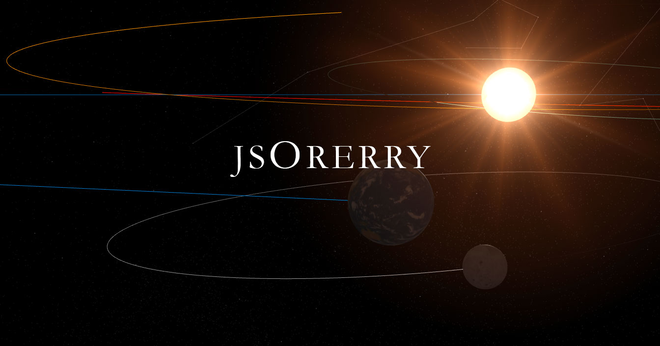 jsOrrery - Javascript Solar System Simulator